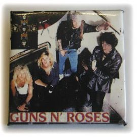 Guns N'Roses - 'Group/Appetite' Square Badge